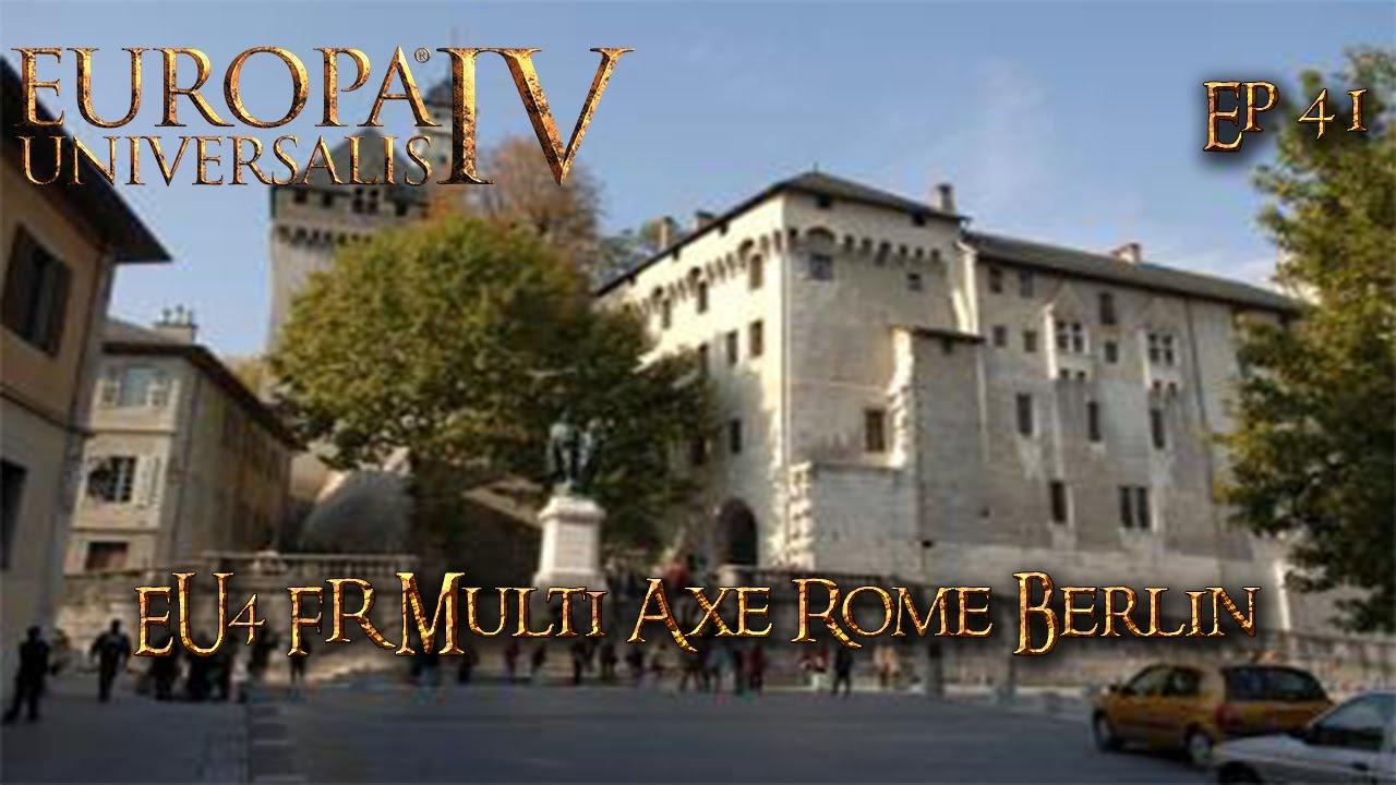 eu4 fr multi axe rome berlin ep41 youtube. Black Bedroom Furniture Sets. Home Design Ideas