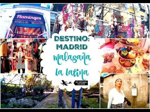 DESTINO MADRID: Malasaña & La Latina | Claudia Cienfuegos