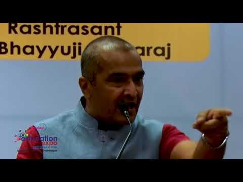 Sanjay Raval At Education Expo 2018 | Thanganat