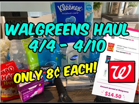 WALGREEENS HAUL (4/4 – 4/20) | 14 ITEMS FOR $1.15! 💃