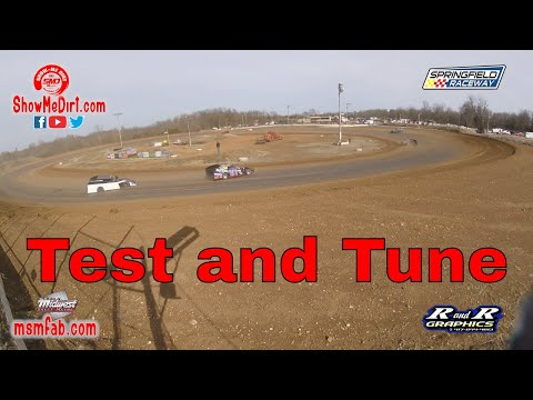 Test and Tune Springfield Raceway 02.22.2020