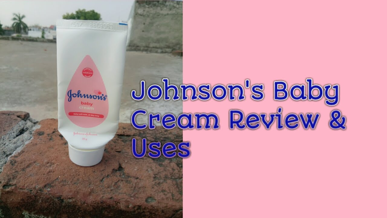 Johnson's Baby Cream Uses Review | in Hindi | - YouTube