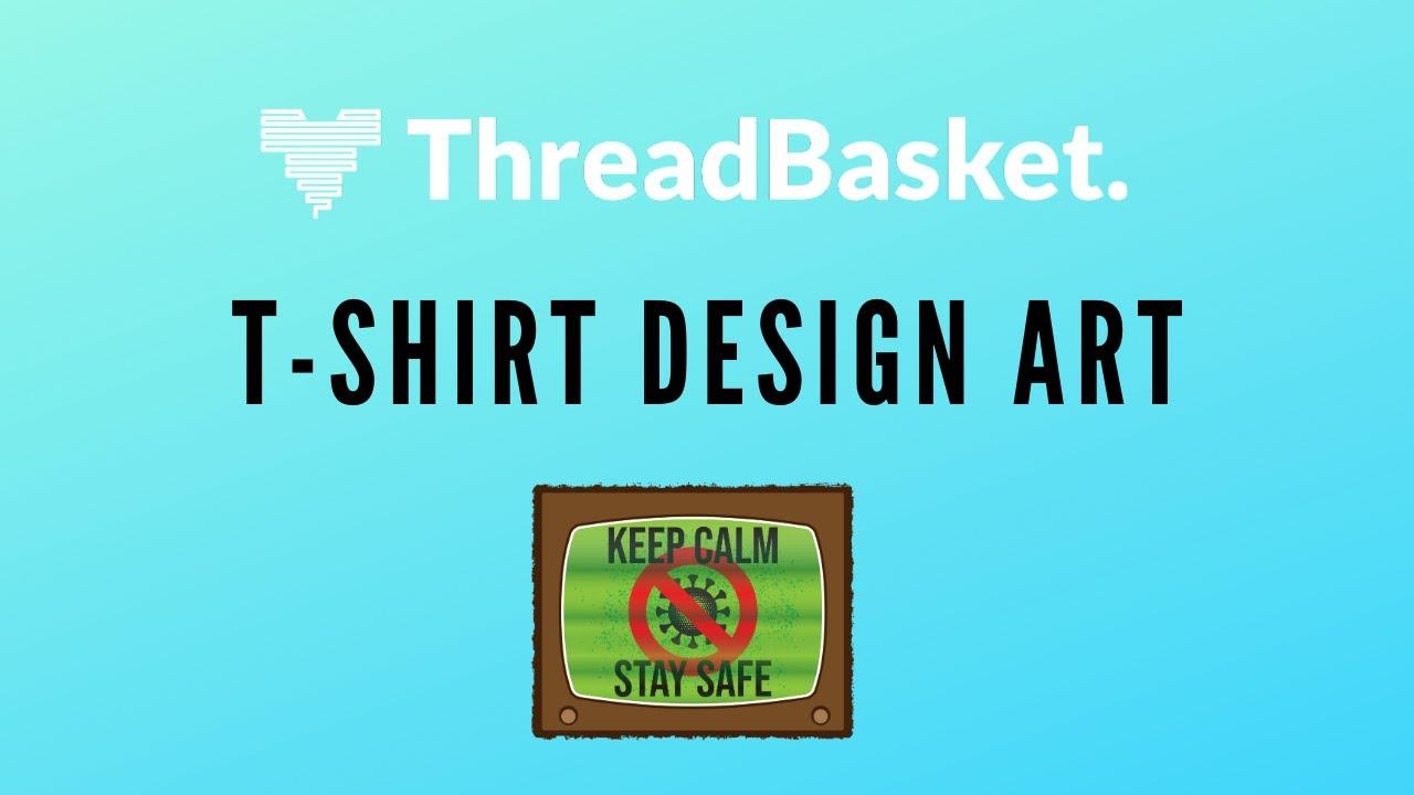 T Shirt Design Art Threadbasket Review T Shirt Artwork Youtube