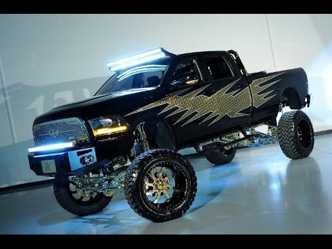 Ram 2500 Diesel For Sale >> 2013 Ram 2500 Laramie Diesel Lifted Custom SEMA Show Truck - YouTube