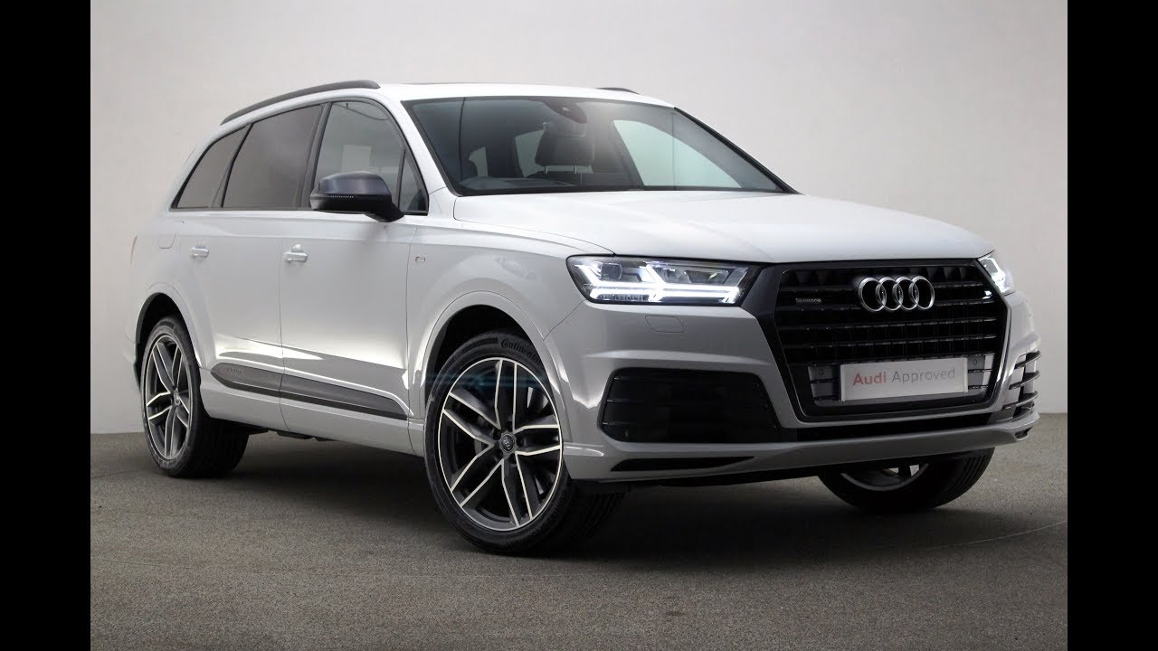 Rv17myu Audi Q7 Tdi Quattro S Line White 2017 Reading