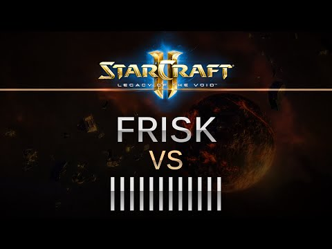 StarCraft 2 -- LOTV -- Frisk (P) v Barcode (Z) on Dusk Towers