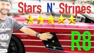 STARS N' STRIPES R8 FOLIERUNG!! | VLOG 11 | Check Matt Dortmund