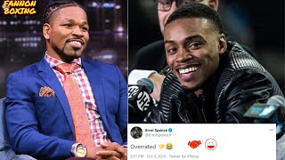ERROL SPENCE CLOWNS SHAWN PORTER FOR CLAIMING DEREK JAMES OVERRATED! PORTER MAD, BITTER ABOUT LOSS?