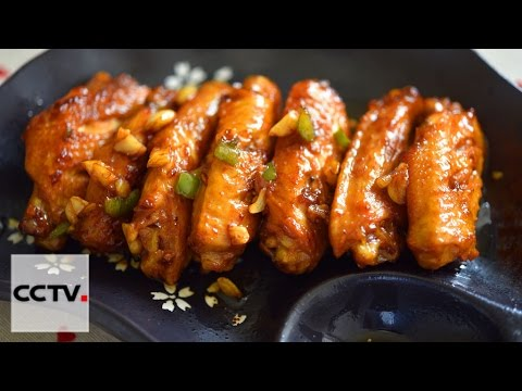 Китайская кухня: Куриные крылышки с чесночным ароматом