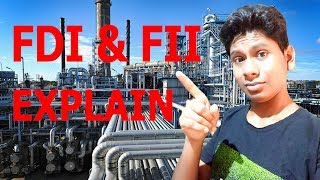 What is FDI And FII Explain In Hindi