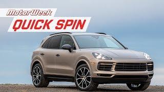 2019 Porsche Cayenne | Quick Spin