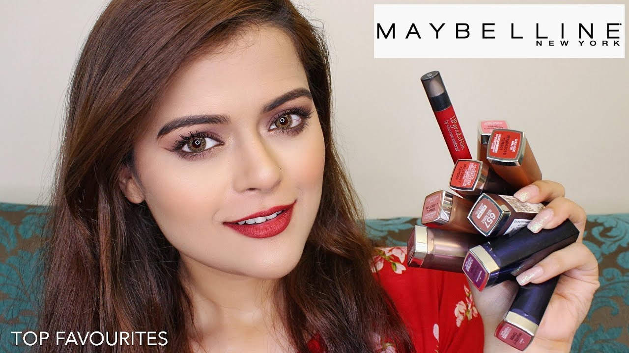 Top 9 Maybelline Lipsticks For Every Occasion Skin Tone Youtube
