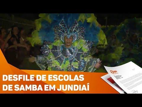 Desfile de escolas de samba agita Jundiaí - TV SOROCABA/SBT