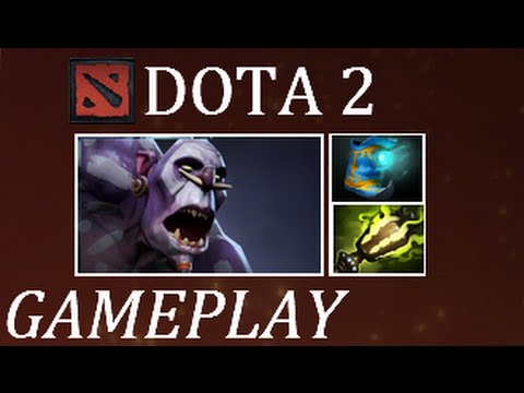 Dota 2 I Carry a Monkey and a Spider on my Back (Witch Doctor Gameplay Commentary)