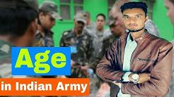 """""""  """"      join indian army as a soldier age limit 2018 in hindi"""