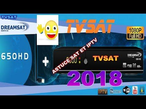 DREAMSAT 650HD ASTUCE SAT ET iPTV 2018