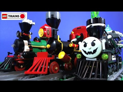 lego ghost train - Lego Halloween Train