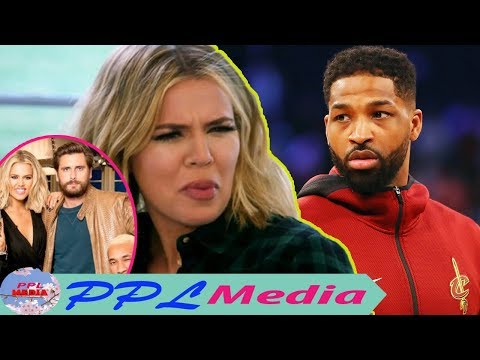 Khloe shouted to Tristan Thompson, he had no right to question she had what relationship with Scott