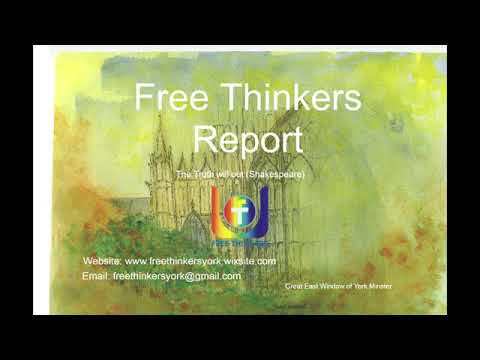 Free Thinkers Report - 1st Sept