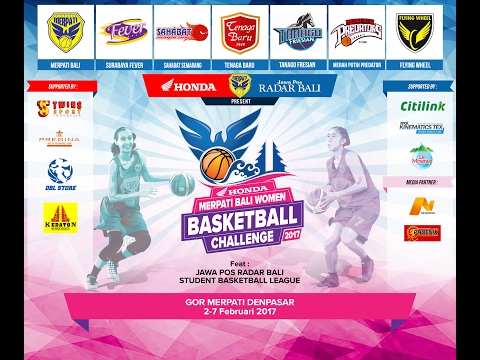 Merpati Bali Women Basketball Challenge 2017: Surabaya Fever vs Flying Wheel Makassar (02/02/2017)