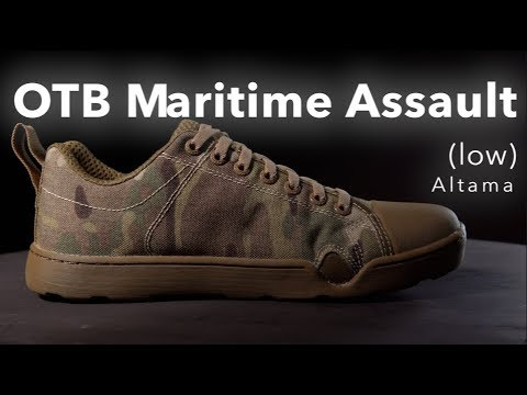OTB Maritime Assault Boot (low) - Altama