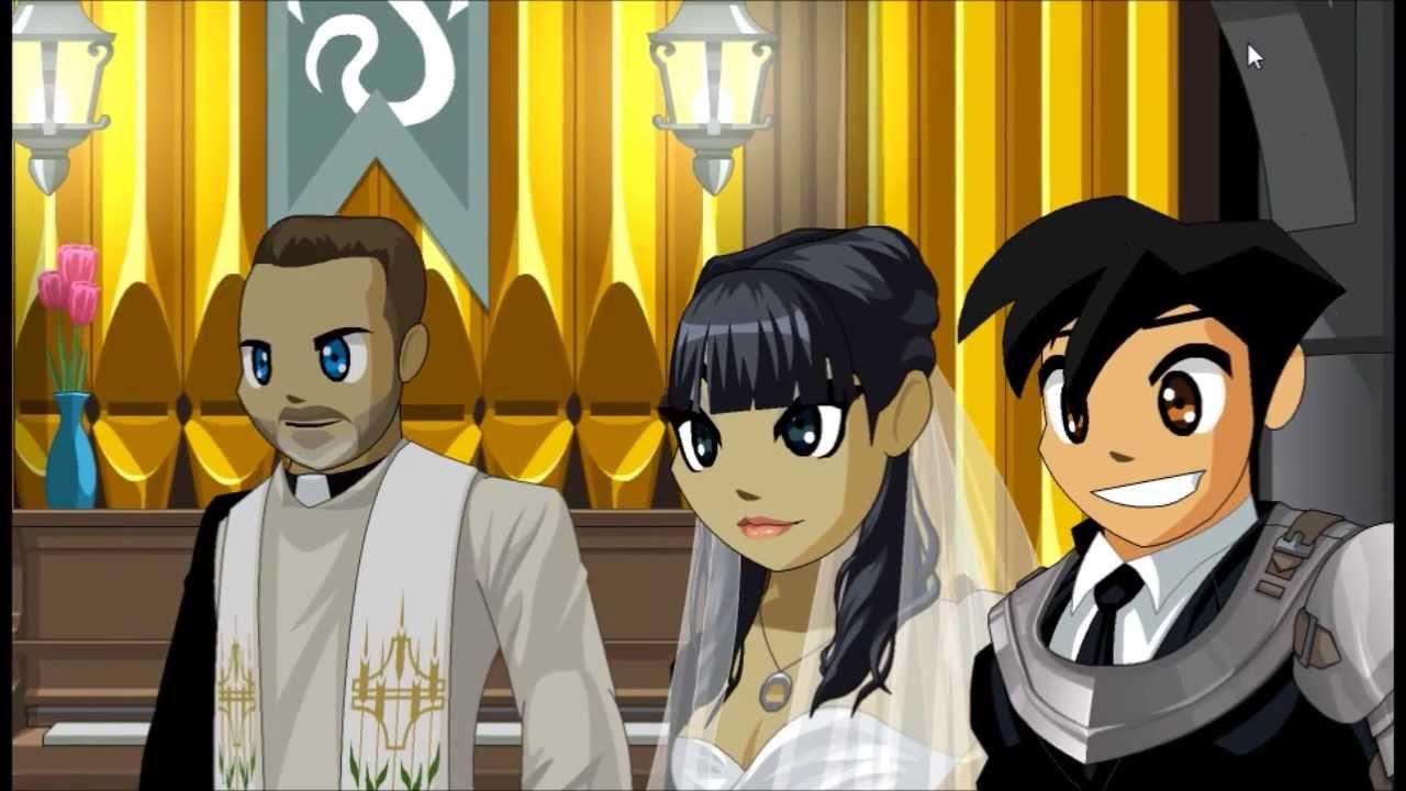 AQW Lord Of The Wedding Rings Walkthrough & Cutscenes