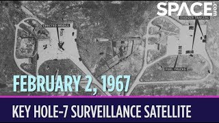 OTD in Space – February 2: U.S. Air Force Launches Key Hole-7 Surveillance Satellite