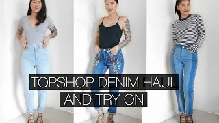 One of idressmyselff's most viewed videos: TOPSHOP DENIM HAUL AND TRY ON | IDRESSMYSELFF | AD