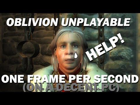 Help! Oblivion Running