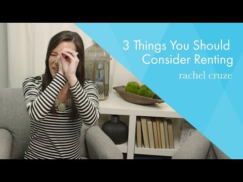 3 Things You Should Consider Renting