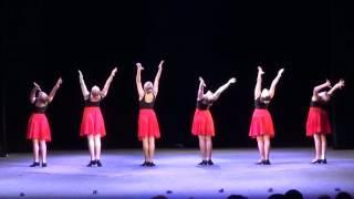 Танцевальный этюд на основе русских народных танцев. СВУИиК - госэкзамен-2016
