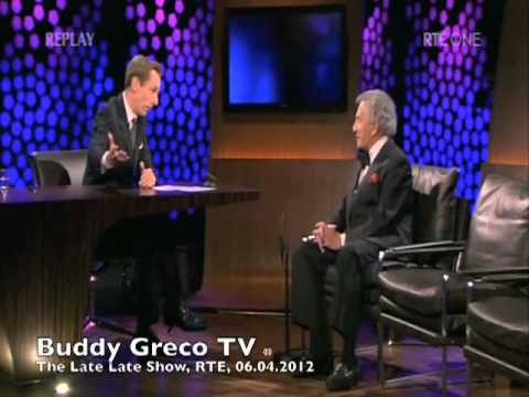 Buddy Greco, Interview On The Late Late Show, RTE, 06.04.2012