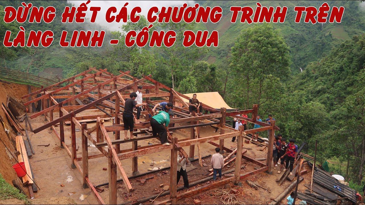 Nhà A Tông dựng nhà mới | Tin nóng dừng hết các chương trình dự án ở Làng Linh - Cống Dua