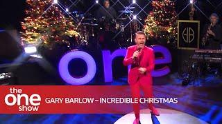 Gary Barlow – Incredible Christmas (Live on The One Show)