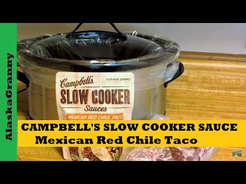 Campbell's Slow Cooker Sauce Product Review- Easy Crock Pot Recipes