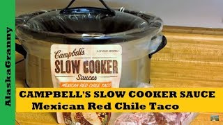 Campbell's Slow Cooker Sauce Product Review