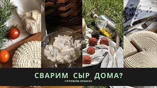 Готовим Брынзу Рецепт