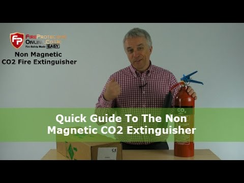 Quick Guide To The Non Magnetic CO2 Extinguisher