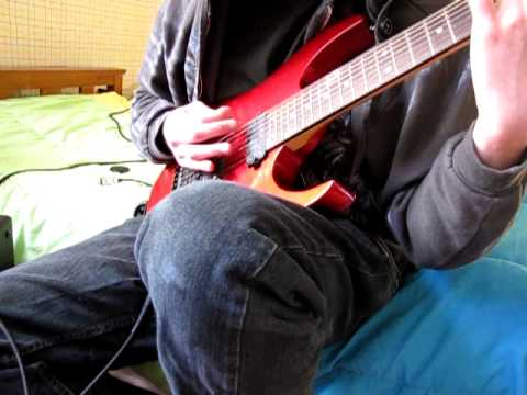 drop a demonstration (7 string rhythm guitar rough draft)