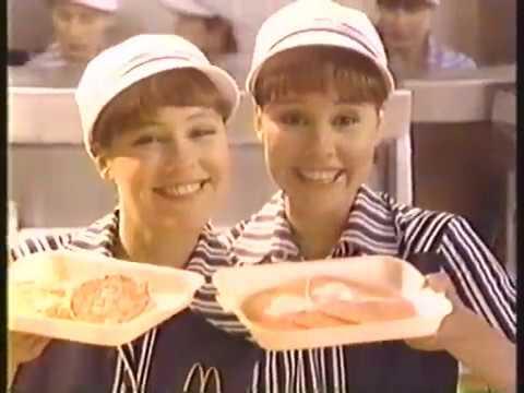 Sagal Twins 1983 McDonald's Commercial