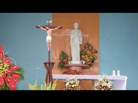 Thánh Lễ Làm Phép Đền Thánh Giuse. GX Thạch An. GP Xuân Lộc. 01/05/2017