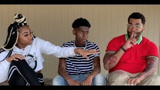 What Kevin Gates and NBA Youngboy get interrupted by Jania ft. Ncaa young boy and Iam_daeshawnaa