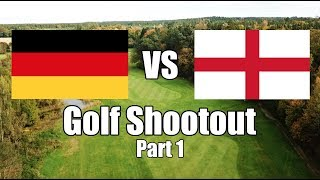 England vs Germany Golf Shootout - Part 1