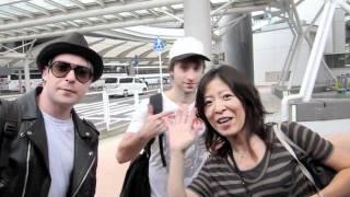 Simple Plan Arrive in Tokyo