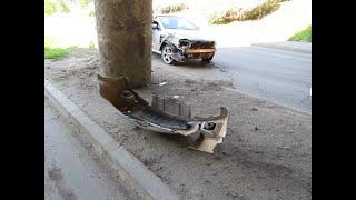 """Автомобил се блъсна във фаталната колона под моста за """"Чародейка"""""""