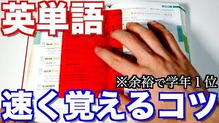 英単語を超効率的に暗記するコツ3選とは?早稲田首席が解説します!