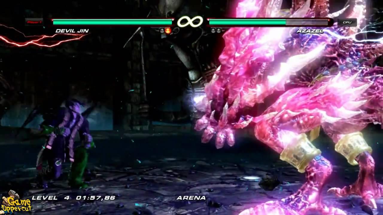 Jin Kazama Hd Wallpaper Tekken 6 How To Kill Azazel Easy And Fast With Devil Jin