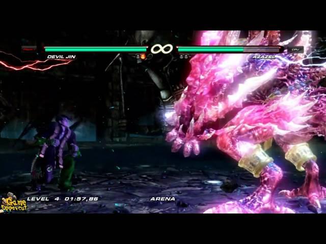 Tekken 6 Devil Jin Boss Fight