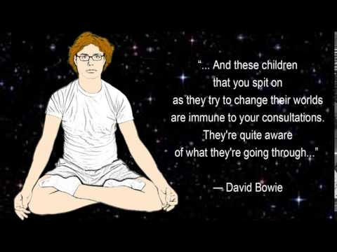 David Bowie Quotes on life 5