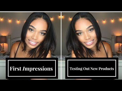 NATURAL MAKEUP LOOK | FIRST IMPRESSIONS | CHEAP BOMB LASHES